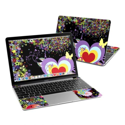 Flower Cloud MacBook 12-inch Skin