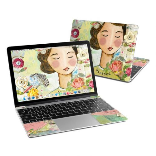 Grateful Soul MacBook 12-inch Skin