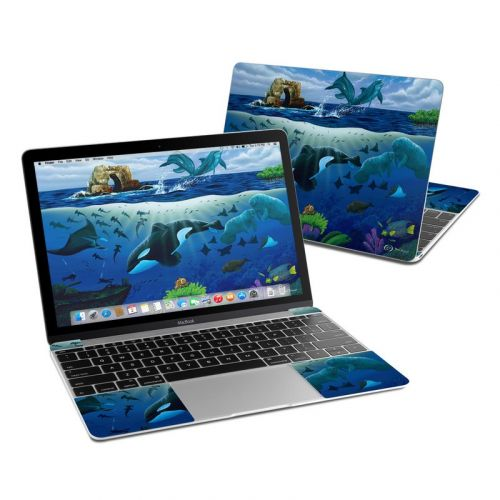 Oceans For Youth MacBook 12-inch Skin