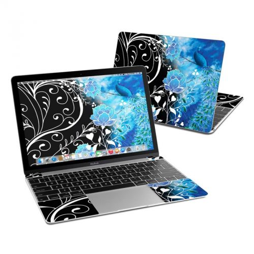 Peacock Sky MacBook 12-inch Skin