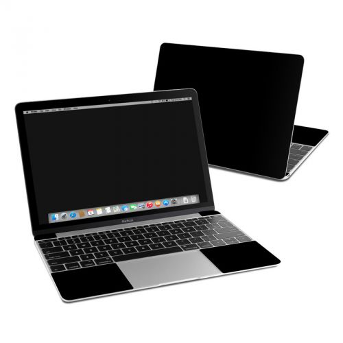 Solid State Black MacBook 12-inch Skin