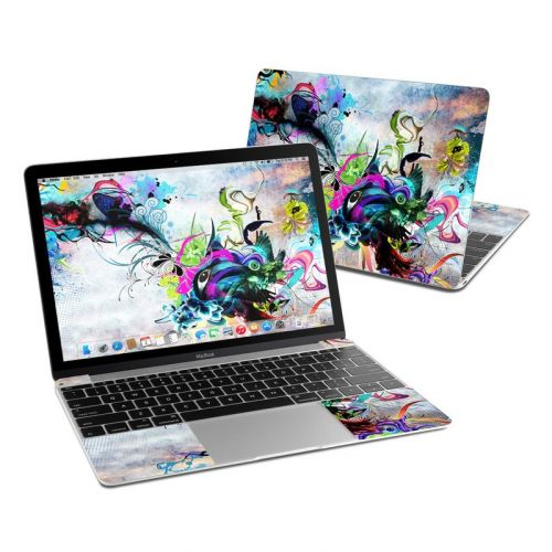 Streaming Eye MacBook 12-inch Skin