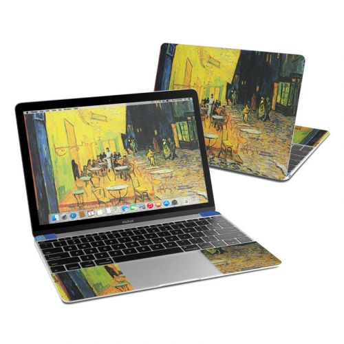 Cafe Terrace At Night MacBook 12-inch Skin