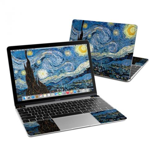 Starry Night MacBook 12-inch Skin
