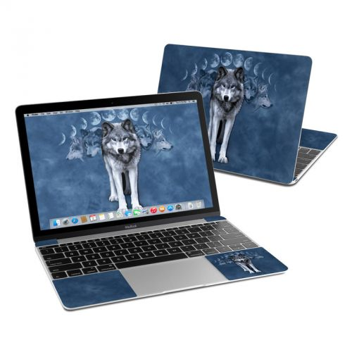 Wolf Cycle MacBook 12-inch Skin