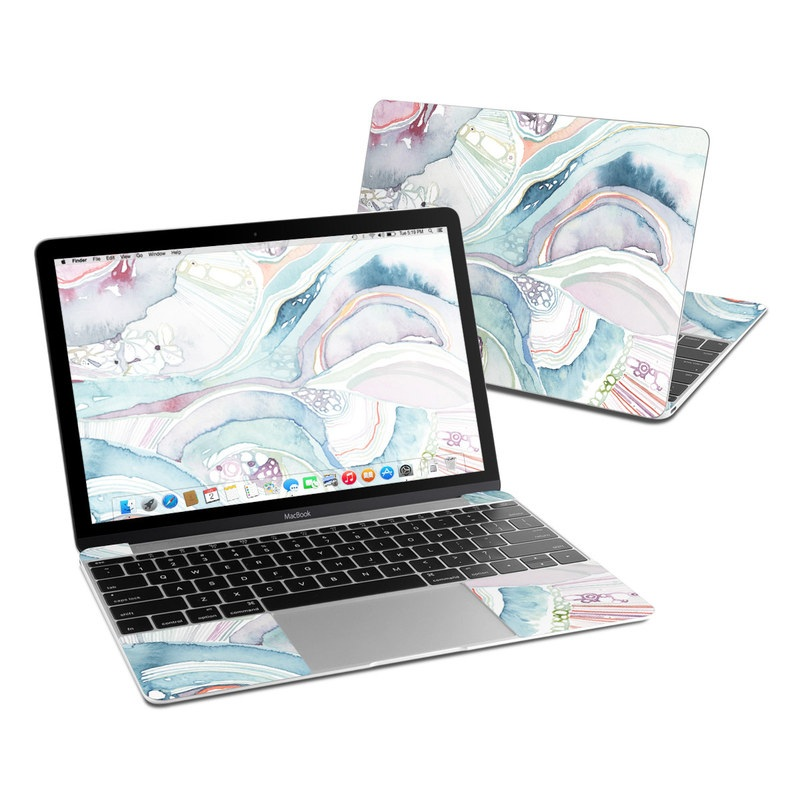 Abstract Organic MacBook 12-inch Skin