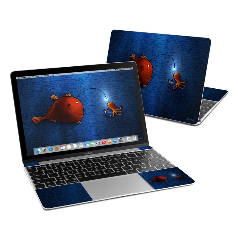 Angler Fish MacBook 12-inch Skin