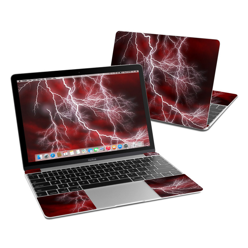 Apocalypse Red MacBook 12-inch Skin