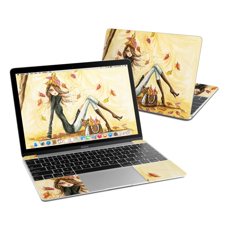 Autumn Leaves MacBook 12-inch Skin