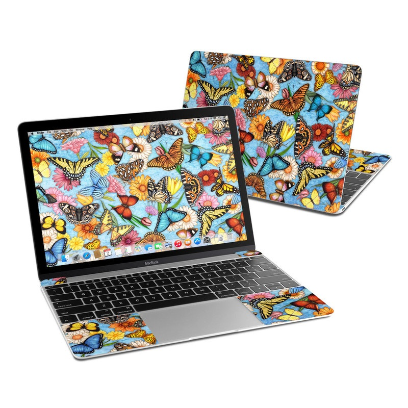 Butterfly Land MacBook 12-inch Skin