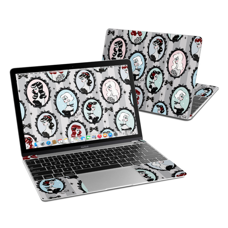Cameo Dolls MacBook 12-inch Skin