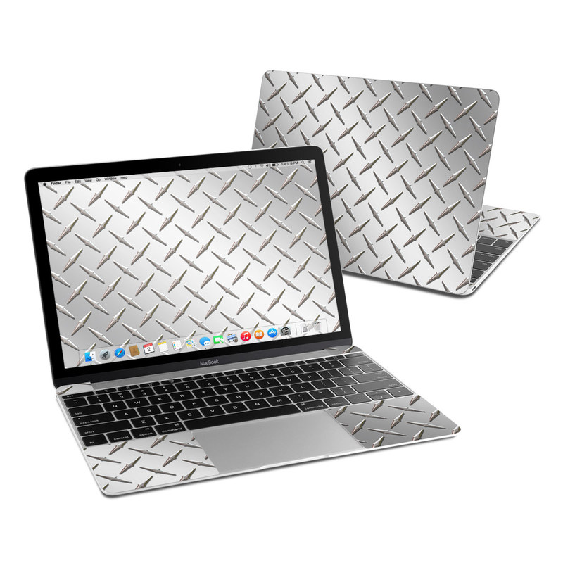 Diamond Plate MacBook 12-inch Skin