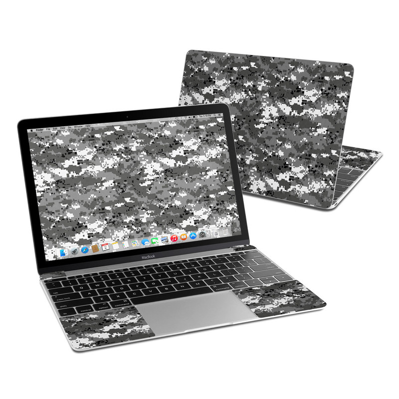Digital Urban Camo MacBook 12-inch Skin