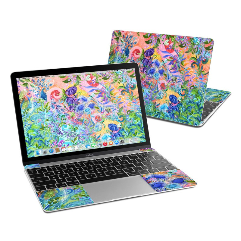 Fantasy Garden MacBook 12-inch Skin