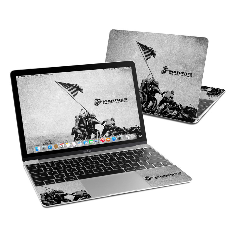 Flag Raise MacBook 12-inch Skin