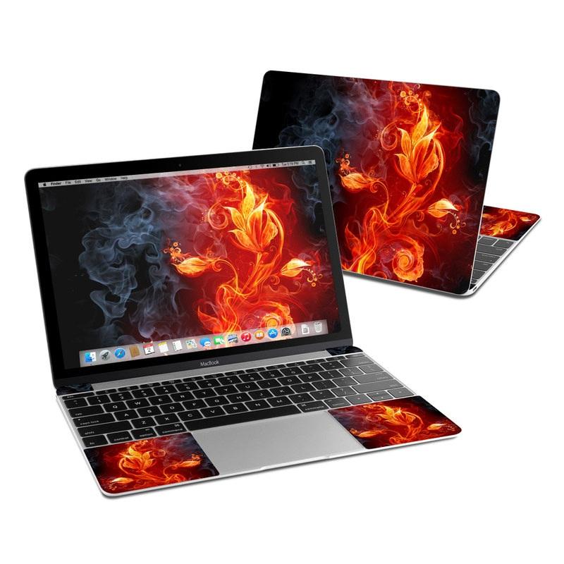 Flower Of Fire MacBook 12-inch Skin
