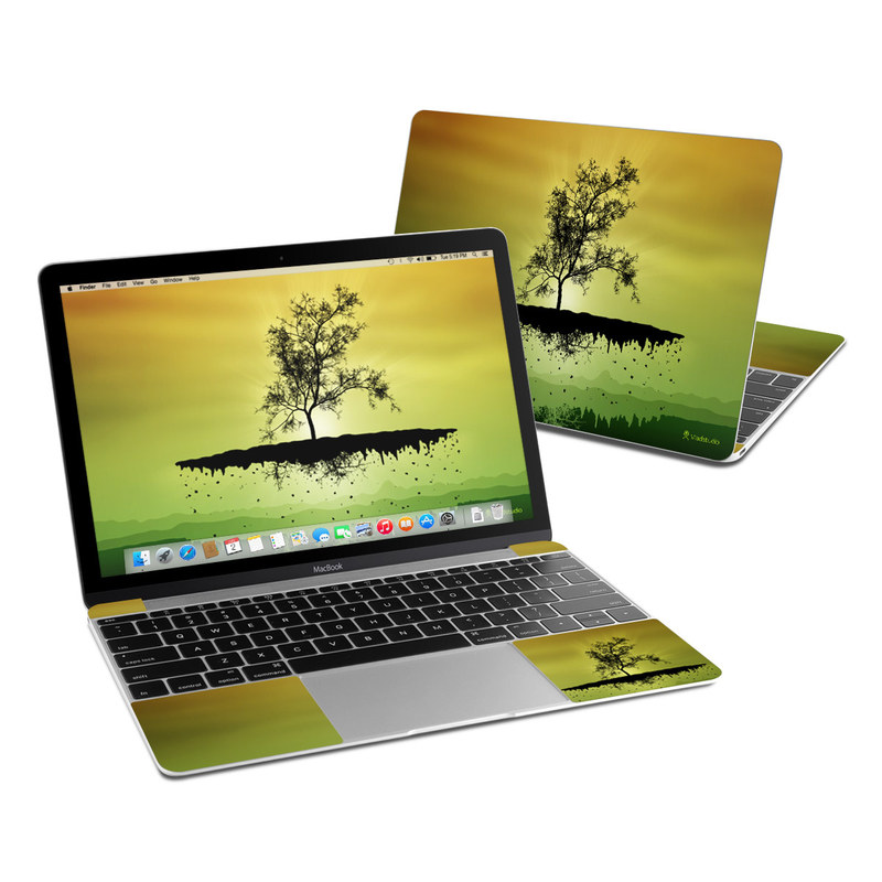 Flying Tree Amber MacBook 12-inch Skin