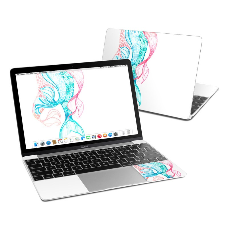 Mermaid Tails MacBook 12-inch Skin