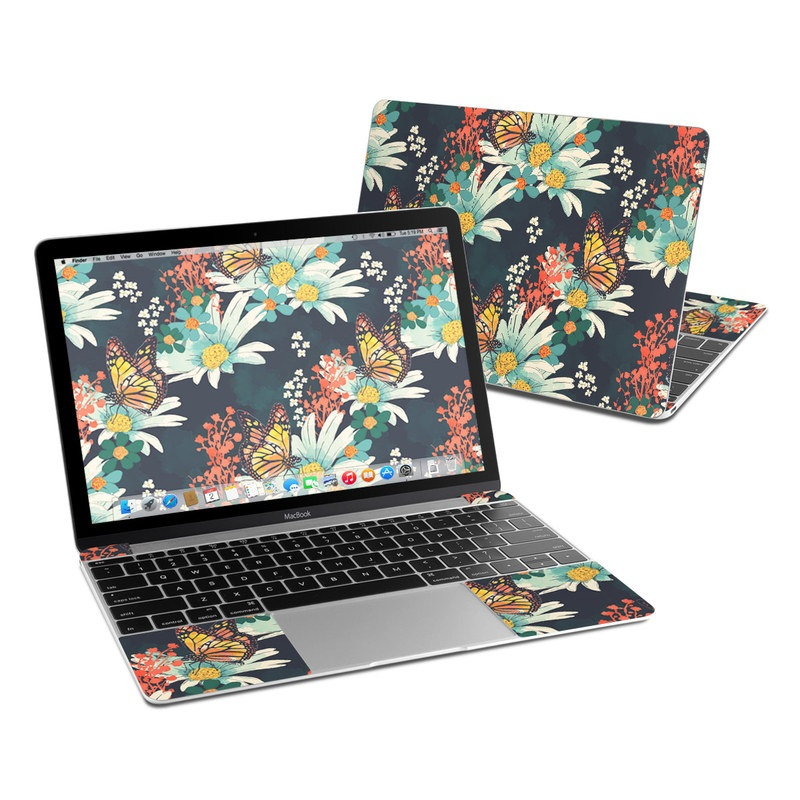 Monarch Grove MacBook 12-inch Skin