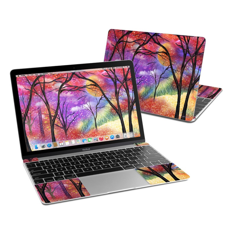 Moon Meadow MacBook 12-inch Skin