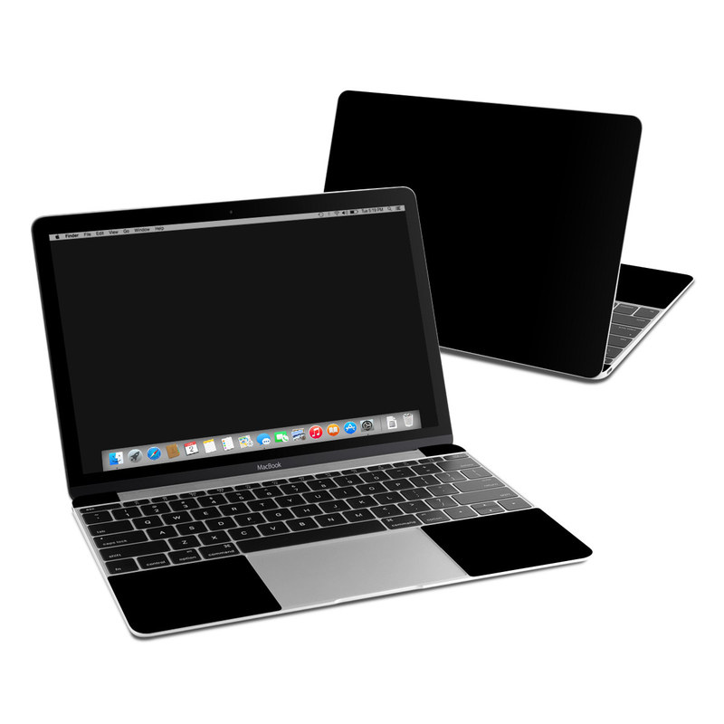 MacBook 12-inch Skin design of Black, Darkness, White, Sky, Light, Red, Text, Brown, Font, Atmosphere with black colors