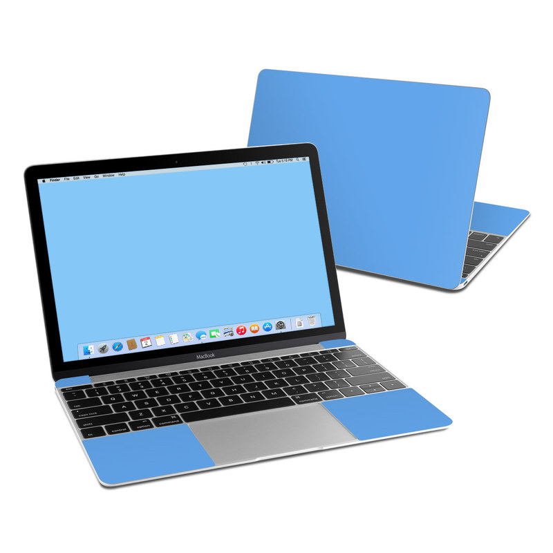 Solid State Blue MacBook 12-inch Skin
