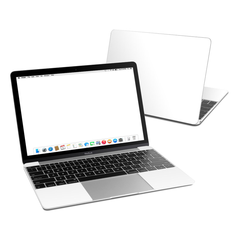 Solid State White MacBook 12-inch Skin
