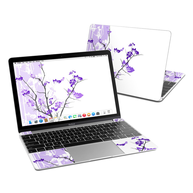 Violet Tranquility MacBook 12-inch Skin