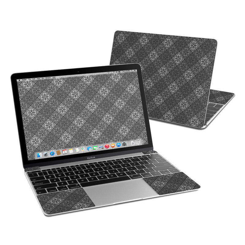 Tungsten MacBook 12-inch Skin