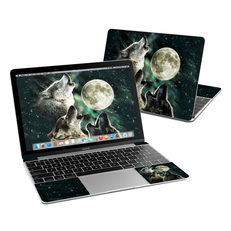 Three Wolf Moon MacBook 12-inch Skin