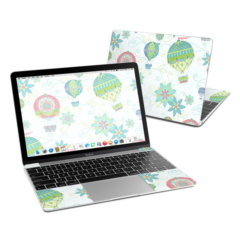 Up and Away MacBook 12-inch Skin