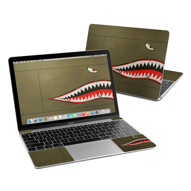 USAF Shark MacBook 12-inch Skin