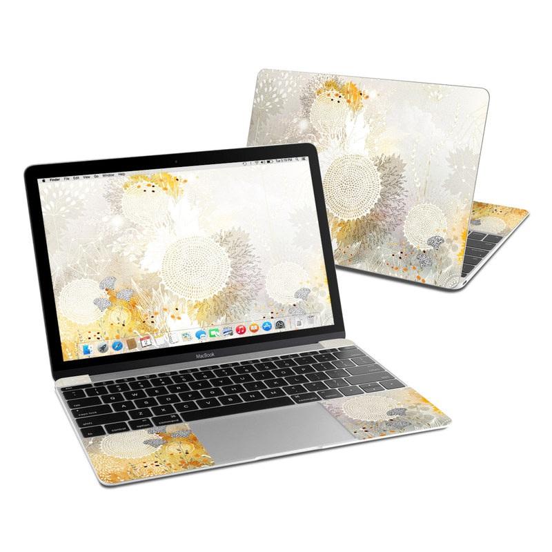 White Velvet MacBook 12-inch Skin