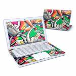Robot Beatdown MacBook 13-inch Skin