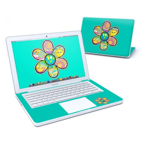 Peace Flower MacBook 13-inch Skin