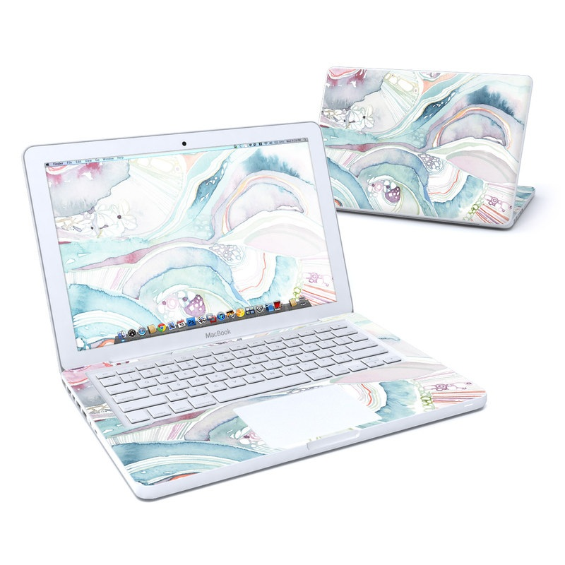 Abstract Organic MacBook 13-inch Skin