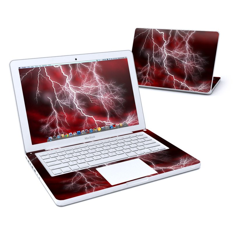 Apocalypse Red MacBook 13-inch Skin