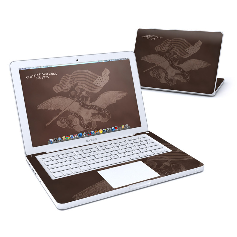 Old MacBook 13-inch Skin design of Turtle, Font, Illustration, Sea turtle, Hand, Drawing with brown colors
