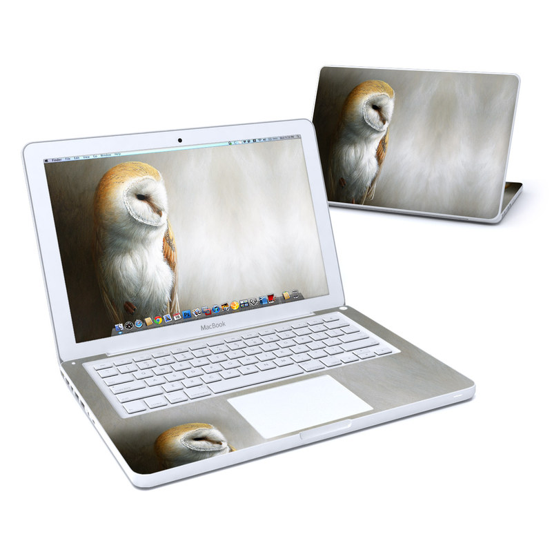 Barn Owl MacBook 13-inch Skin