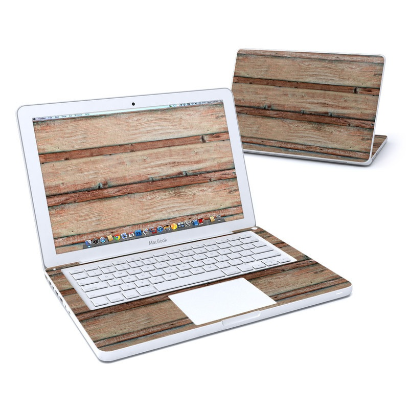 Boardwalk Wood MacBook 13-inch Skin