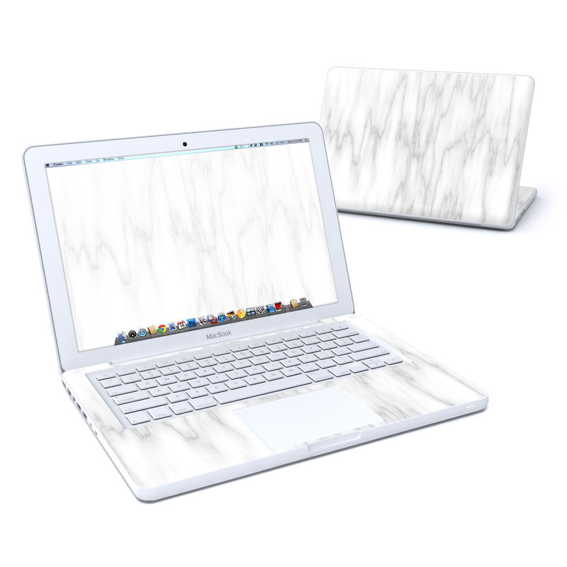 Bianco Marble MacBook 13-inch Skin