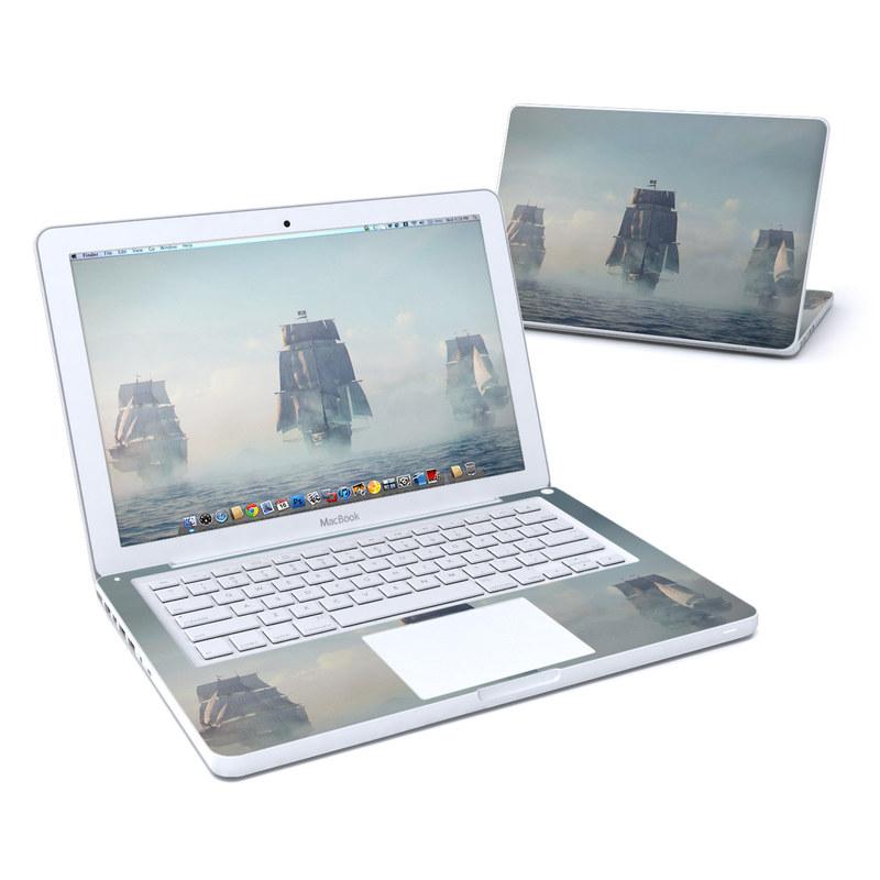 Black Sails Old MacBook 13-inch Skin