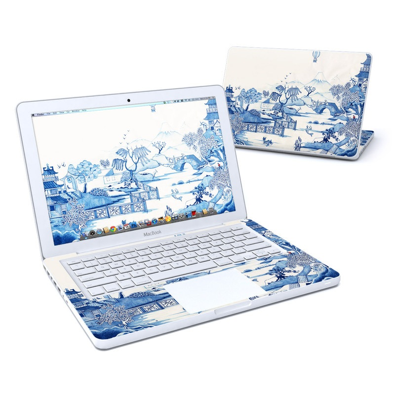 Blue Willow Old MacBook 13-inch Skin
