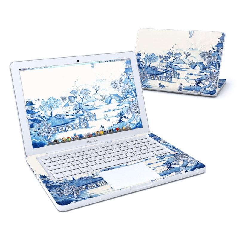 Blue Willow MacBook 13-inch Skin