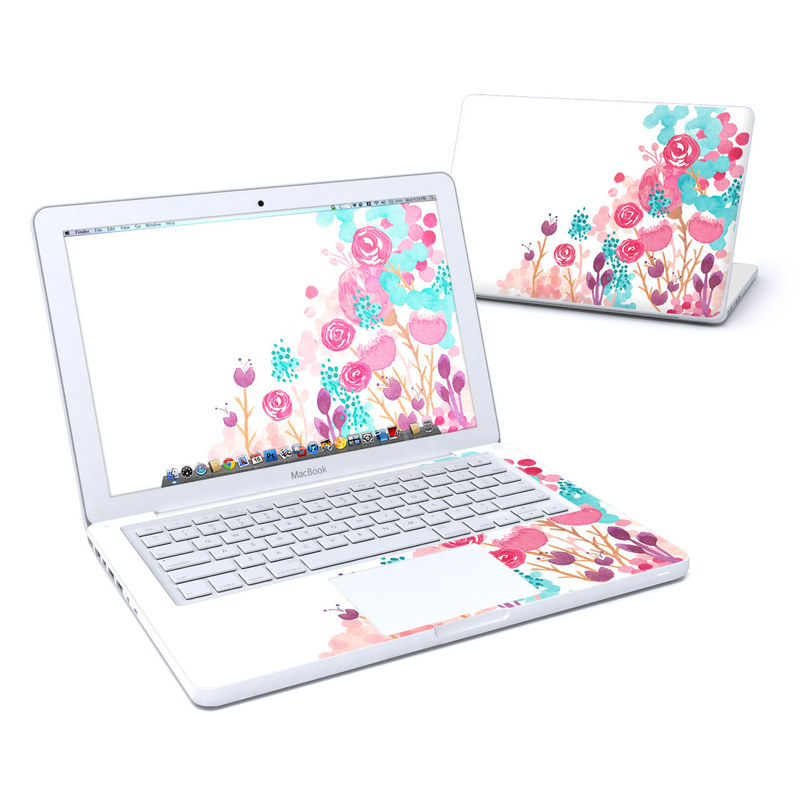 Blush Blossoms Old MacBook 13-inch Skin
