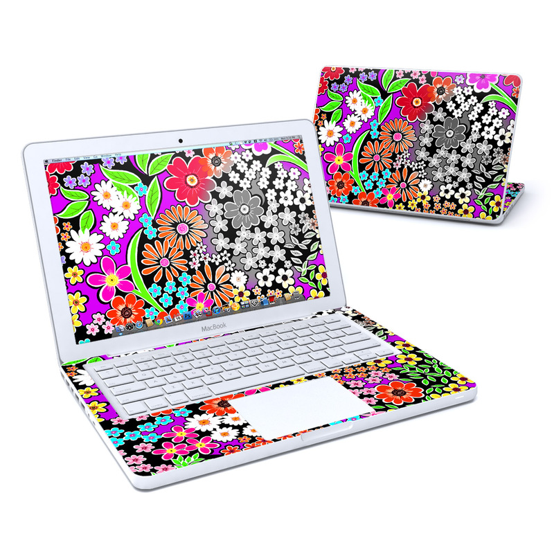A Burst of Color MacBook 13-inch Skin