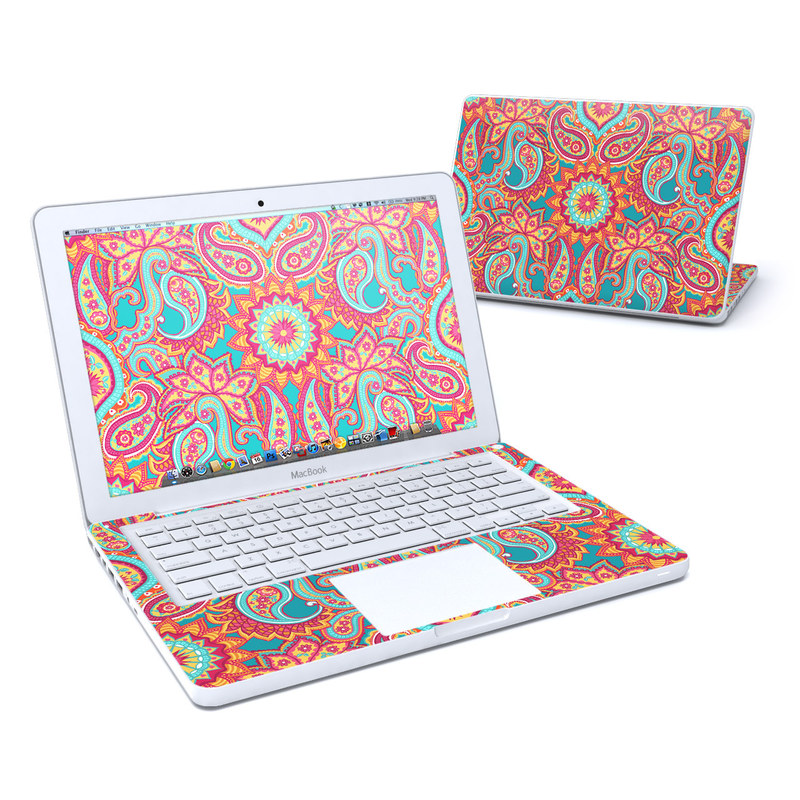 Carnival Paisley MacBook 13-inch Skin