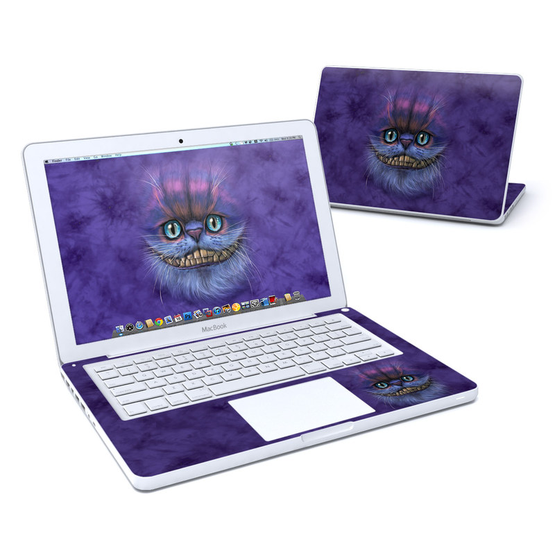 Cheshire Grin MacBook 13-inch Skin