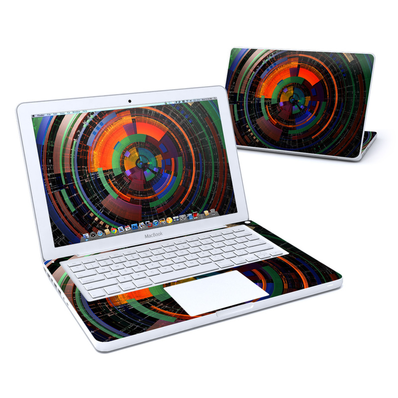 Color Wheel MacBook 13-inch Skin