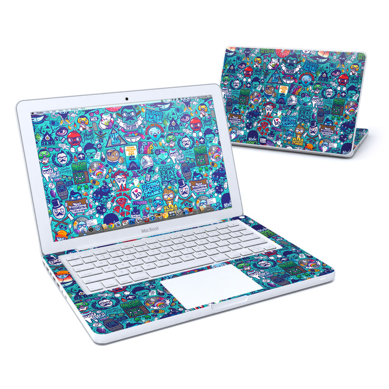 Cosmic Ray MacBook 13-inch Skin